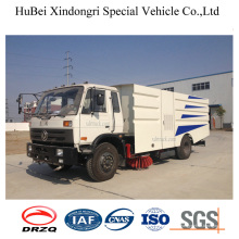 7cbm Dongfeng Euro4 Aspiration des ordures Camion Sweeper