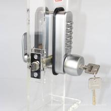 Código de clave mecánica del fabricante Bloqueo con doble seguridad