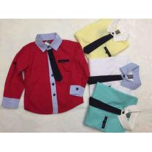 camisas quentes dos meninos do inverno do outono da venda / camisa de algodão dos meninos da forma