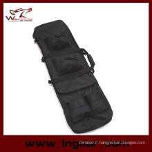 "48"" 1,2 m double Tactical Rifle Sniper Carry Gun Case Bag Backpack"