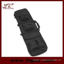 """48"""" 1,2 м двойной тактические винтовки снайпера нести дело пушки сумка рюкзак"""