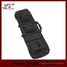"48"" 1,2 m doble Rifle táctico militar francotirador llevar pistola caso bolsa mochila"