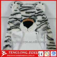 Зимняя шапочка с плюшевым плюшевым плюшевым медвежонком высокого качества с ушами
