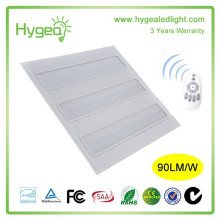 integrate surface led grille panel light 600x600mm 30w 36w 45w