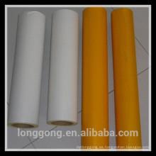 Película de chorro de arena con adhesivo de PVC
