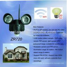 Novos produtos 5.0M movimento detectar iluminação de segurança ao ar livre com câmera PIR
