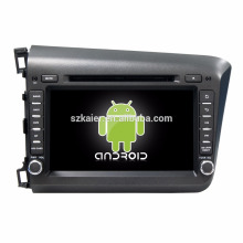 Octa core! Android 7.1 car dvd for Civic 2012-2015 with 8 inch Capacitive Screen/ GPS/Mirror Link/DVR/TPMS/OBD2/WIFI/4G