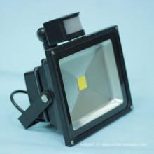 Conduit usine vente chaude led capteur flood light 10w smt ac dc disponible en fabrication
