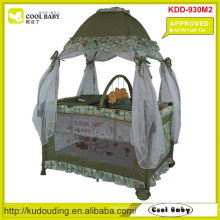 ASTM F406-12A Approved NEW Playpen for Baby with Mongolian Style Mosquito Net