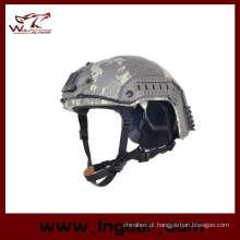 Polícia militar rápido Mh capacete capacete tático capacete plástico