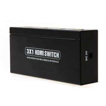 3X1 HDMI Switch 3D 1080P Metal Housing