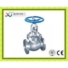 150lb 6inch Carbon Stahl A216 WCB Flansch End Globe Ventil