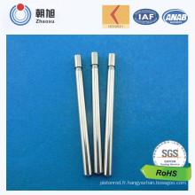 Vis de l'acier inoxydable de précision faite sur commande de fournisseur de la Chine