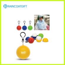 Promotional PE Rain Poncho Ball Rpe-008