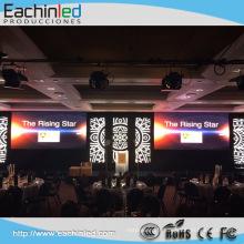 Écran portatif mené polychrome en aluminium P6 pour la location de toile de fond d'étape / événements