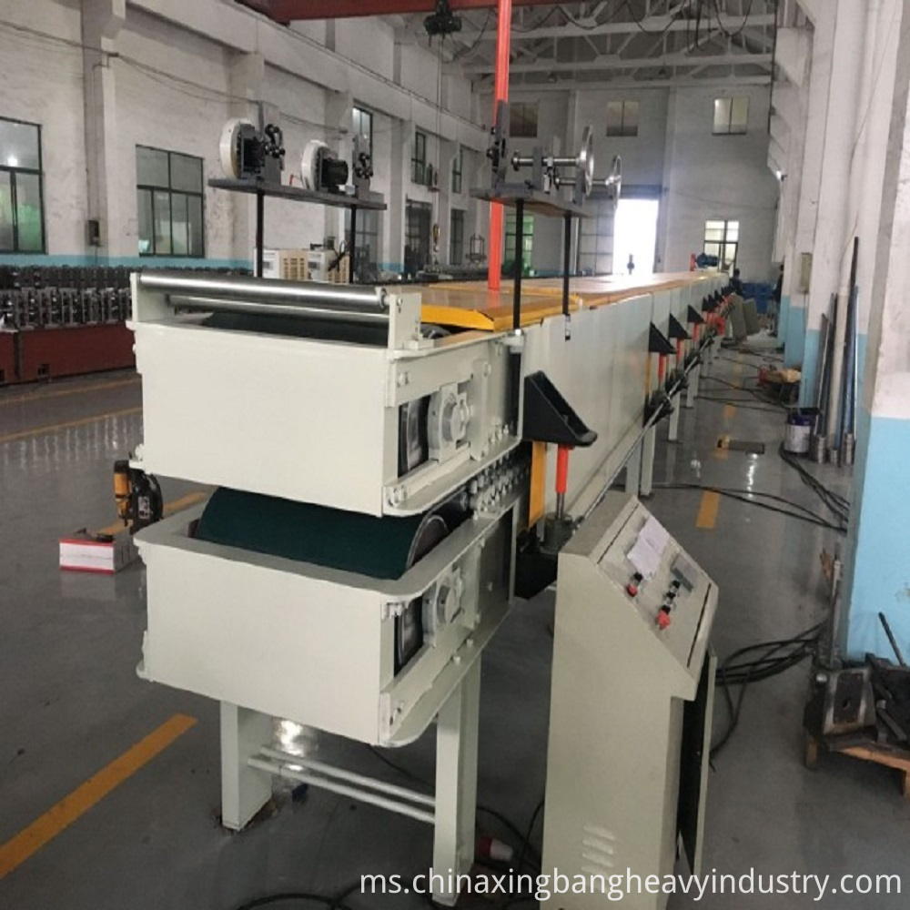 Integrated panel production line equipment