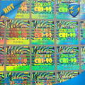 custom clear cheap hologram stickers /anti counterfeit sticker / original tamper proof hologram stickers