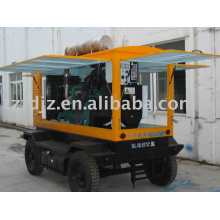 G128ZLD1 Tipo de remolque generador diesel