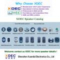 Weather resistant speaker 40mm 8ohm 0.5w outdoor speaker