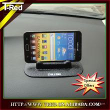 al por mayor fábrica de china PU gel pegajoso teléfono celular soporte de exhibición en el coche