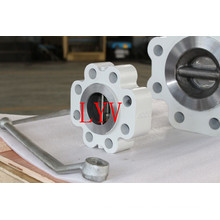 Válvula de retención de oblea de elevación de acero fundido