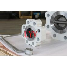 Válvula de retención tipo wafer de alta presión
