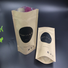 Stand Up Pouch Kraft Paper Tea Bags