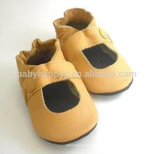 2016 Sapatos de couro de bebê de qualidade superior de alta qualidade para bebê