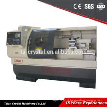 Torno do cnc balanço sobre a cama 400mm cnc torno máquina China CK6140B