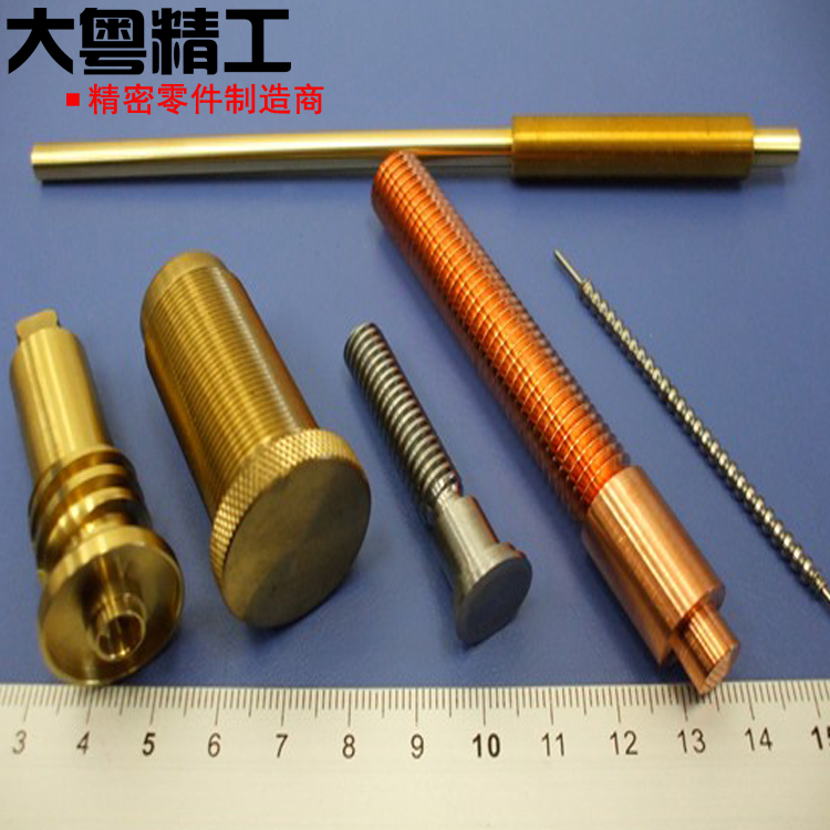 Brass C35300 Machining Parts With Knurling Or Threading