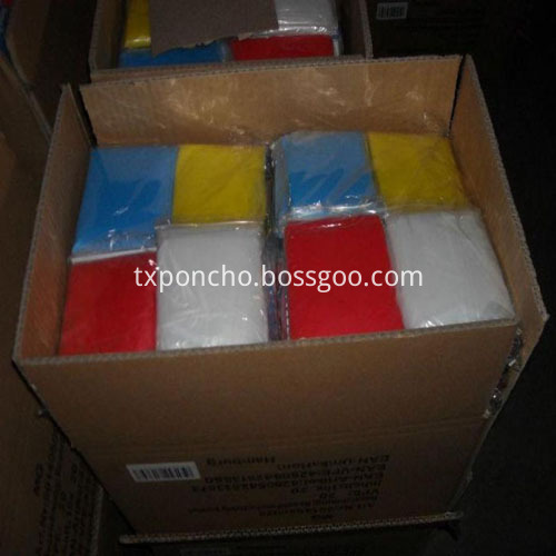 poncho outer package
