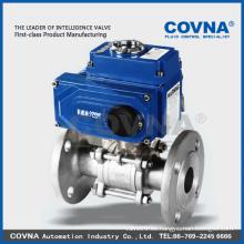 Válvulas de bola automática de 2 vías para control automático, HVAC, tratamiento de agua