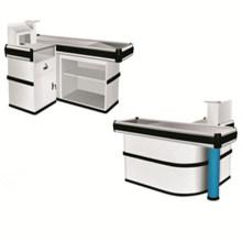 Mesa de contador de cajero de alta calidad ampliamente utilizada del supermercado
