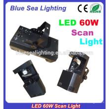 Bar disco rgbw 60w led Scanner Light DMX Dj Lighting Scanner