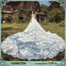 Vestidos de casamento personalizados on-line Alibaba vestido de noiva vestido de noiva fabricante luxo noiva vestidos de casamento vestidos