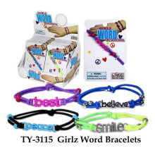 Funny Girlz Word Bracelet Toy