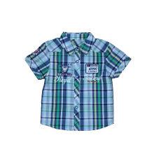 Camisa de algodón en la ropa de los niños (BS026)