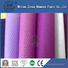 Tissu non-tissé PP Cambrelle Spunbond pour doublure de chaussures (PP cambrella)