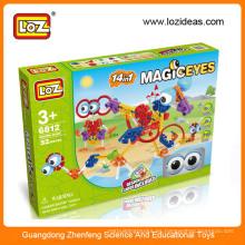 Plástico DIY juguetes educativos para niños, juguetes educativos fabrica, juguete educativo al por mayor