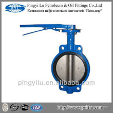 Cast iron central line butterfly valve