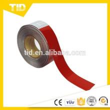 Vehículo reflectante cinta de seguridad Vehículo blanco rojo cinta de seguridad