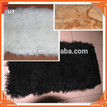 Echter Lammfell Teller, mongolisches Fell