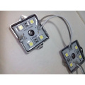 RGB módulo do diodo emissor de luz do smd 75 * 15 * 7mm 0.72w 9LEDs CE RoHS