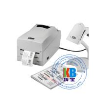 Impressora de etiquetas de código de barras de transferência térmica etiqueta de roupas de vestuário de fita fita impressora máquina de impressão t-shirt