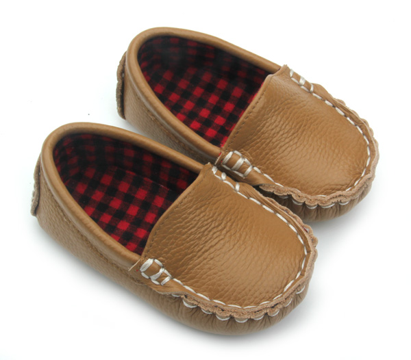Genuine Leather Boat Baby Shoes Children Casual Shoes