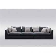Full grain leather sofa