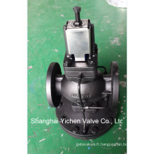 Réducteur de pression à commande pilote à membrane
