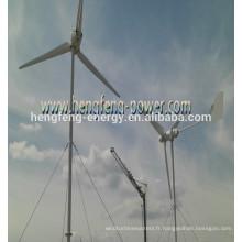 générateurs de courant de vent résidentiel petit 600W