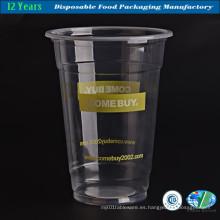 Crystal Clear Plastic Juice Cup al por mayor