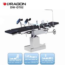 DW-OT02 fabricantes de equipos de quirófano eléctrico de mesa de opresión multiuso cabeza controlada